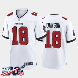 Tampa Bay Buccaneers Tyler Johnson White Jersey